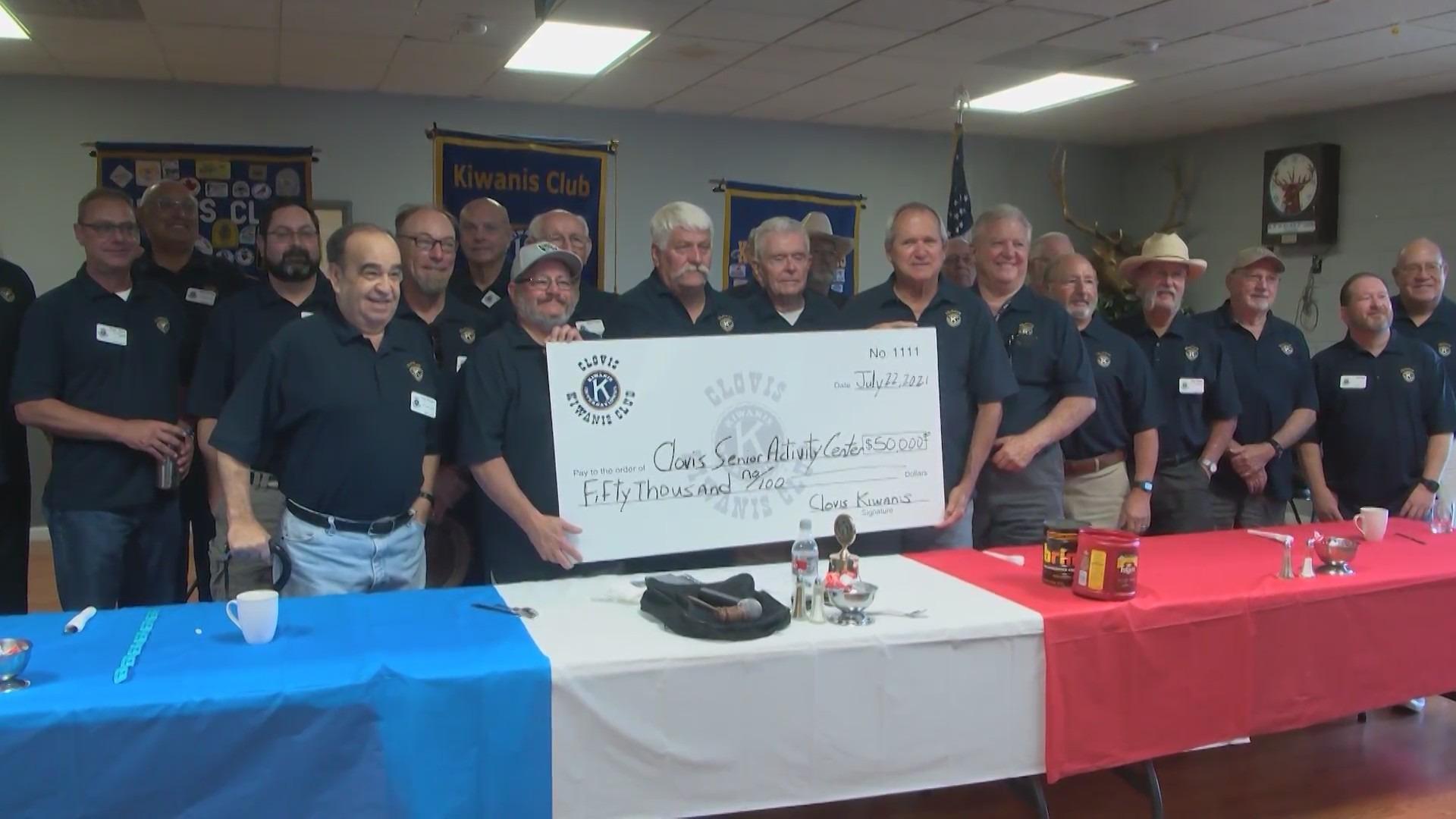 Big donation gives new life to Clovis senior center construction