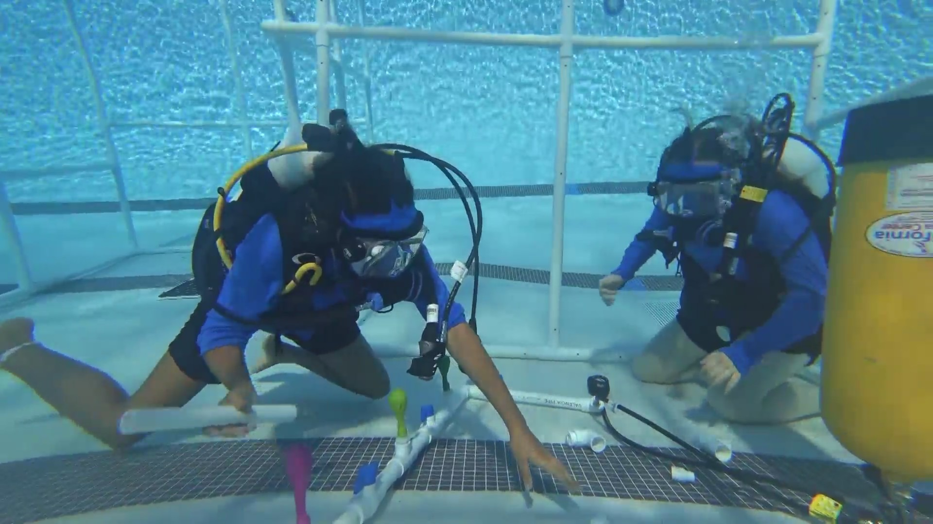 Clovis students get an astronaut's experience underwater