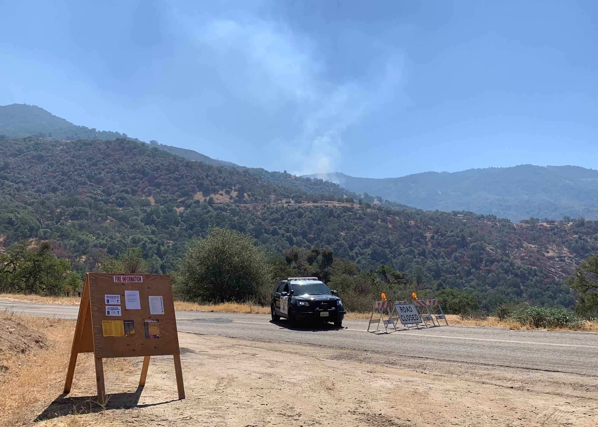 Containment rises on Park Fire, acres burned falls