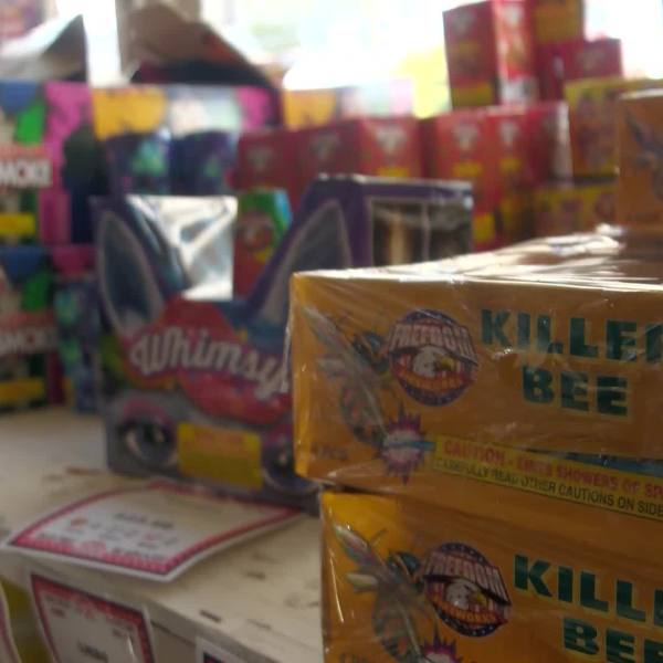 Doctor warns at-home fireworks shows can be dangerous