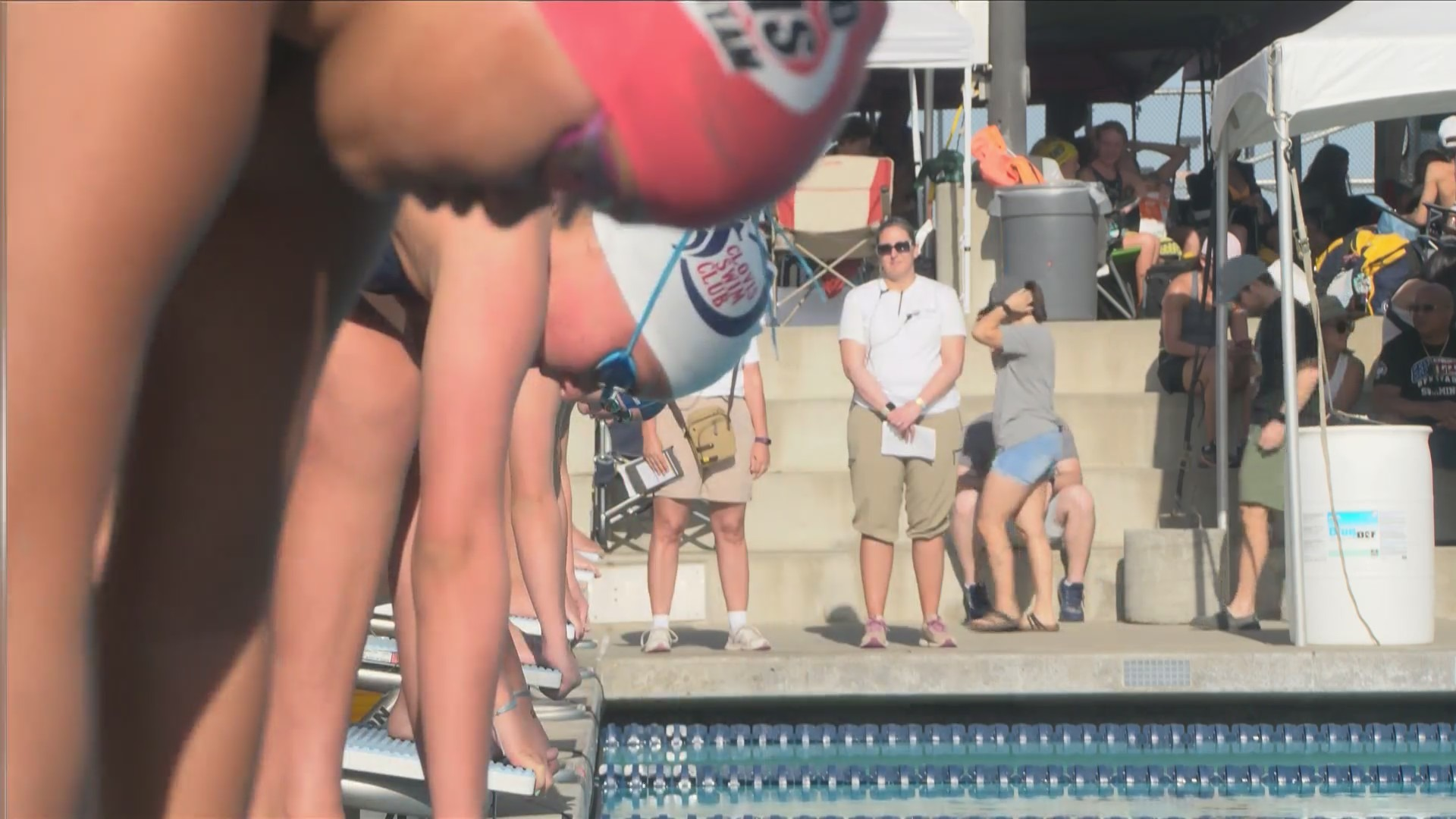 Hundreds of swimmers compete in Junior Olympics in Fresno