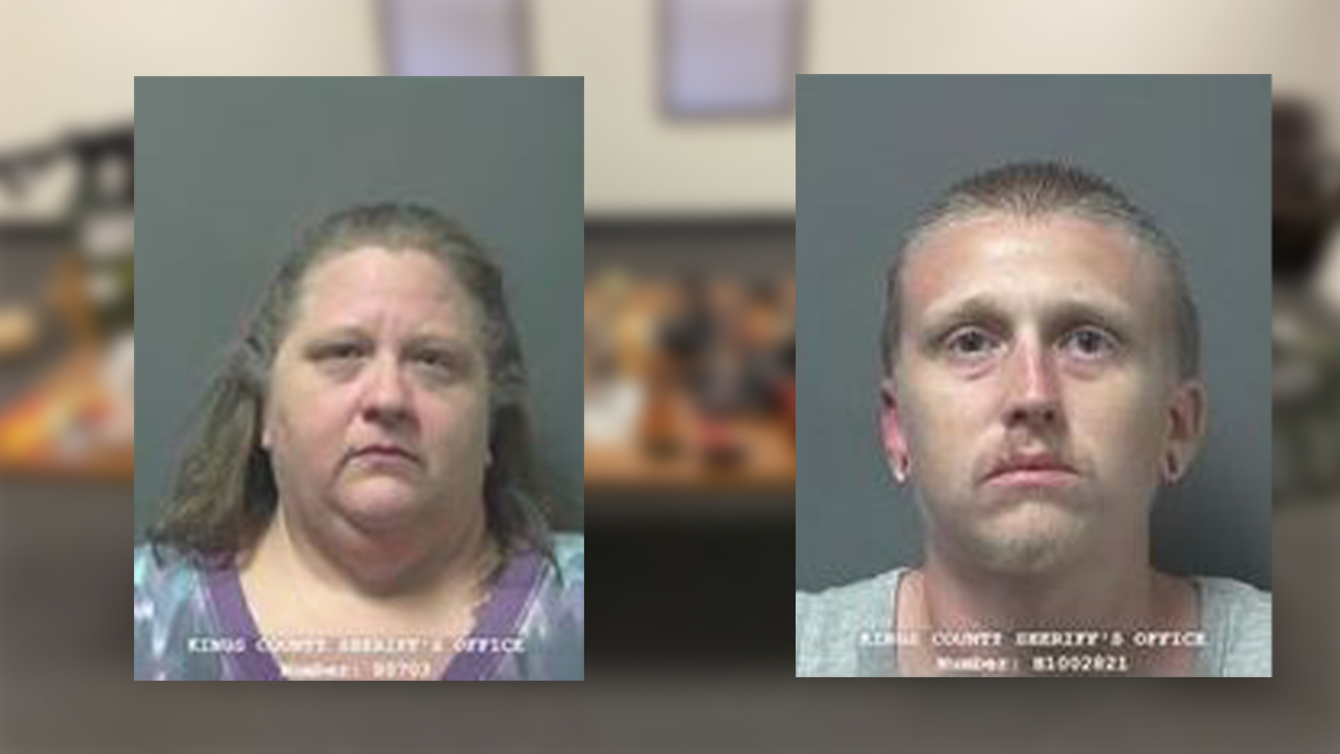Mom and son arrested after guns, pot, and cash found in Kings County, deputies say