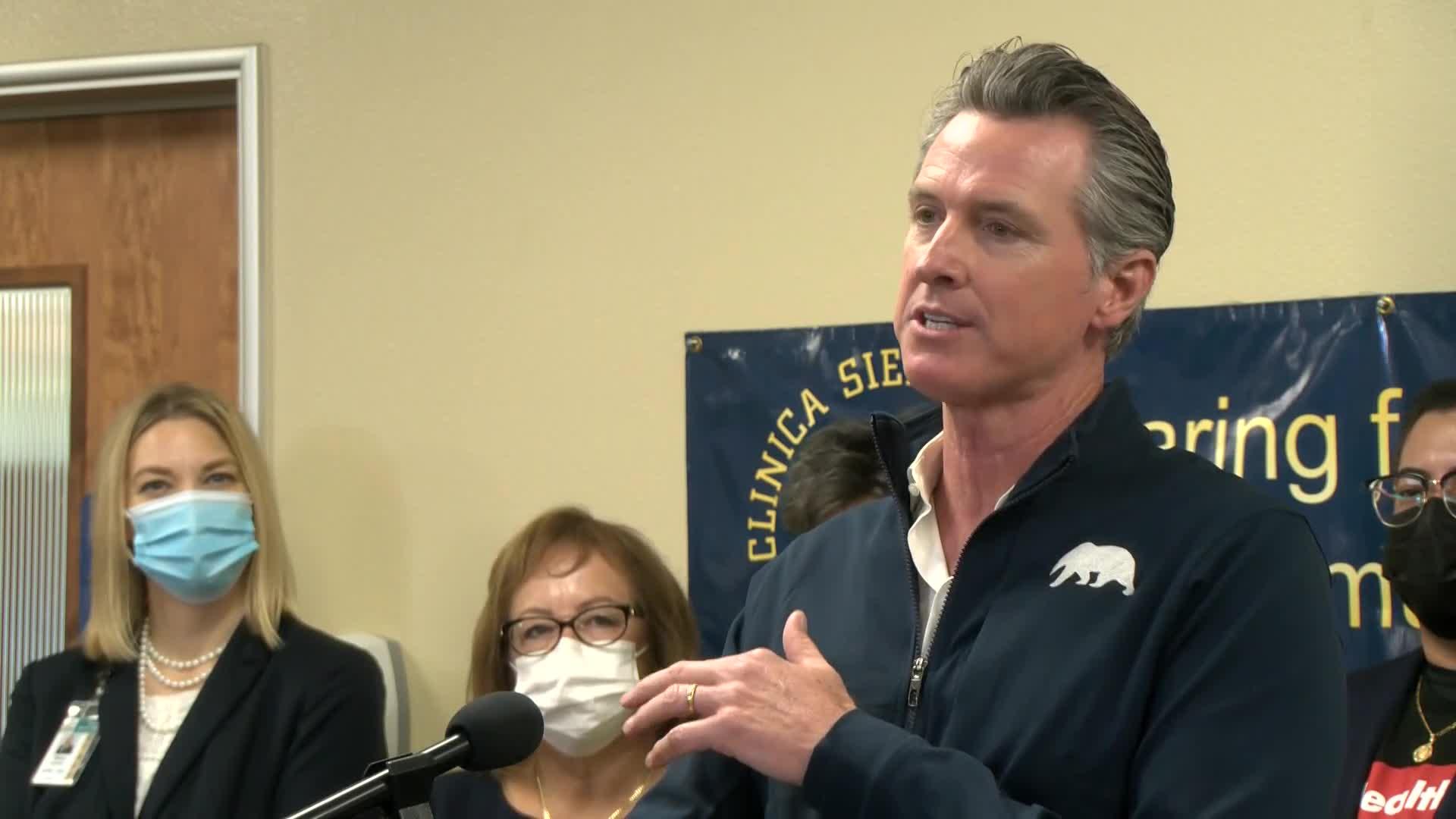 Newsom in Fresno County to address health care in California