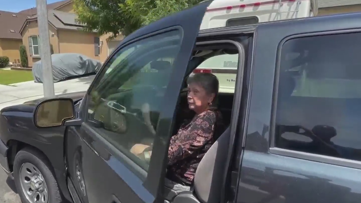 82-year-old woman stranded for 12 hours needing a tow
