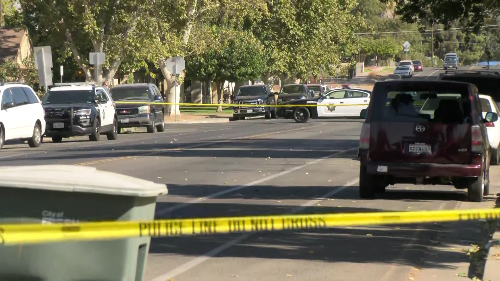 Car-to-car shooting in Fresno puts man in the hospital, police say
