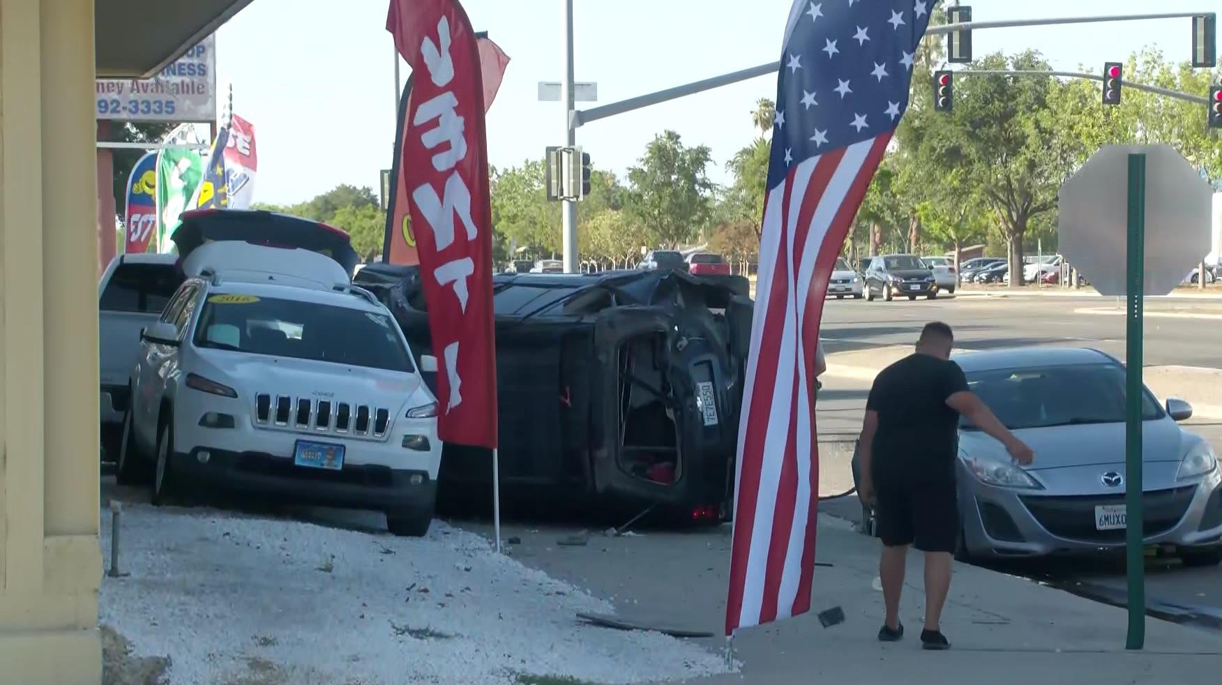 CHP: Driver killed in rollover crash in Fresno