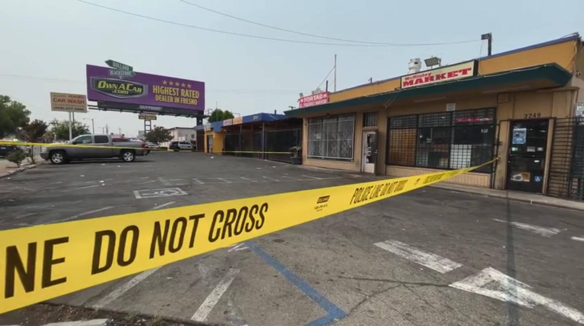 Man shot walking along Fresno road, not cooperating with officers, police say