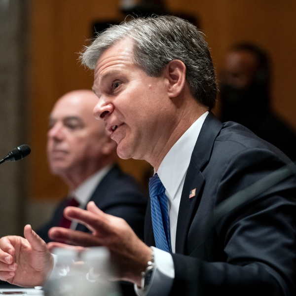 Christopher Wray, Senate Homeland Security & Governmental Affairs Committee Hearing on Security Threats 20 Years After 9/11