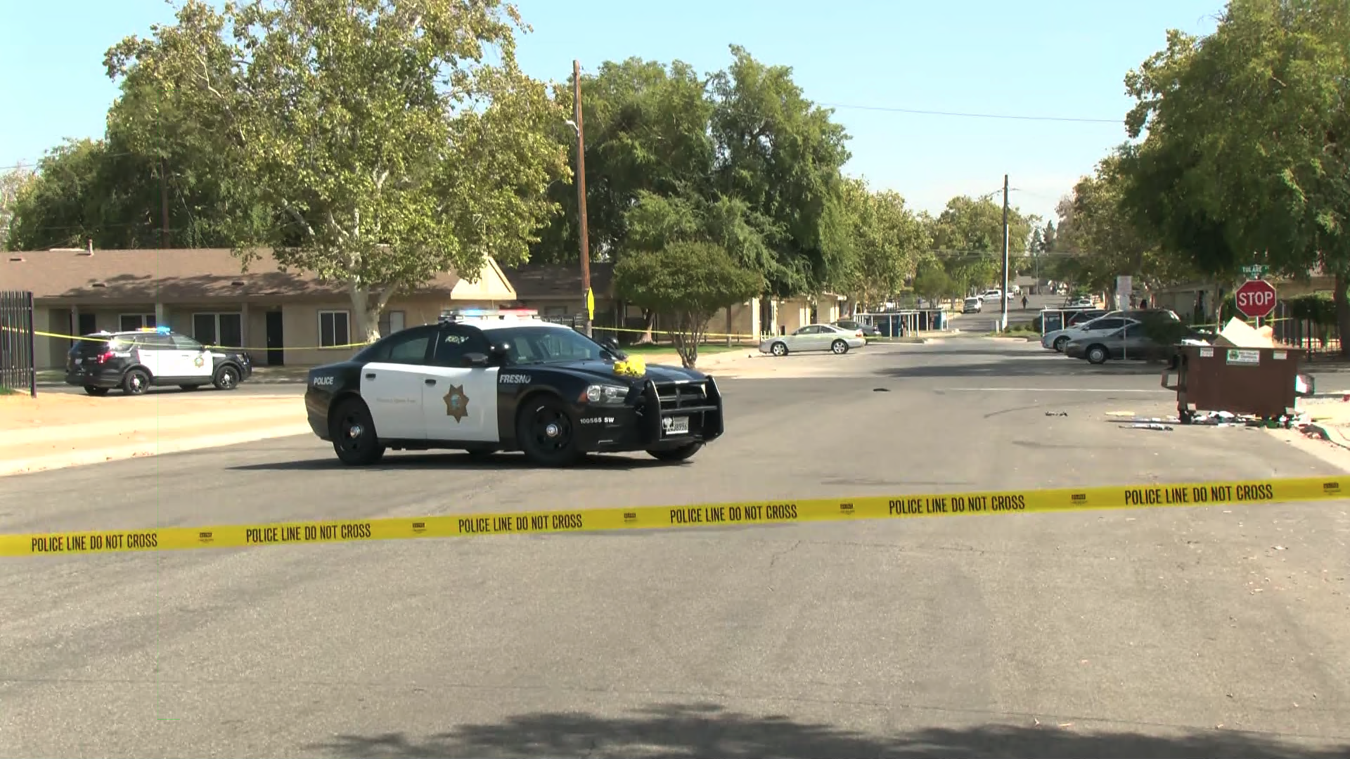 Teen shot while walking away from school, suspect escapes, Fresno Police say